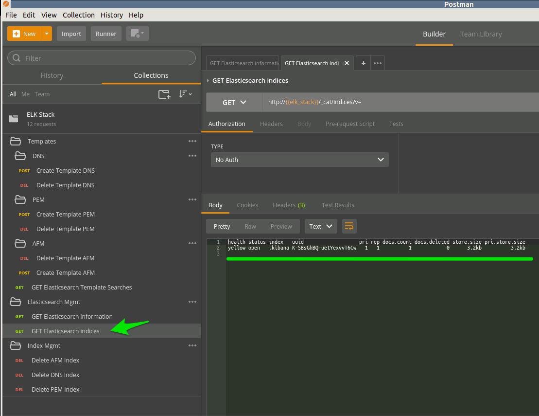 Lab 1 5: Configure elasticsearch templates — F5 CSP Big Data